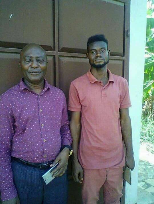PHOTOS: This Houseboy Killed his Boss at Ofankor and Tried to Burn the Body