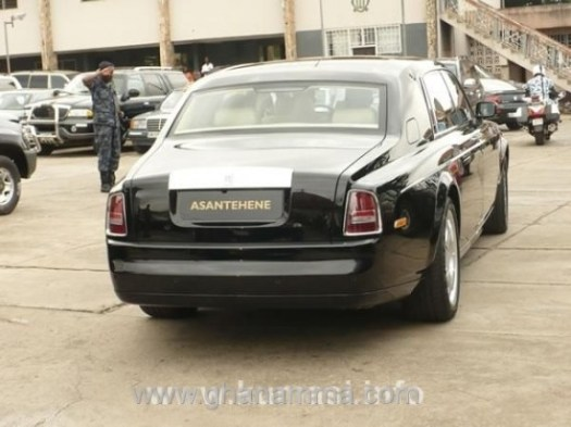 Image result for From Benz to Rolls Royce: See PHOTOS of the Luxurious Cars in Asantehene's Garage