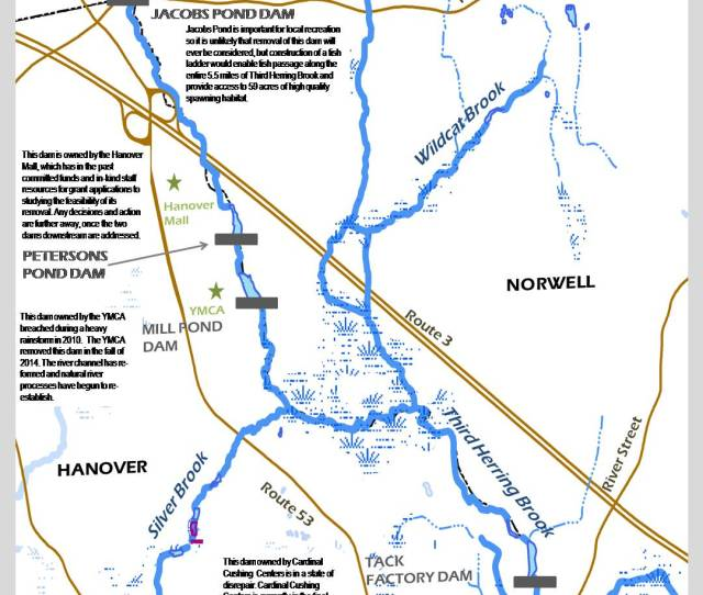 Third Herring Brook Restoration Map
