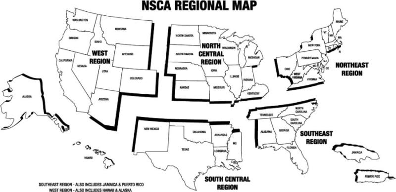 Regional Championships : NSSA-NSCA