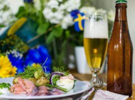 Summer Mat Beer Midsummer Sweden Summer Food