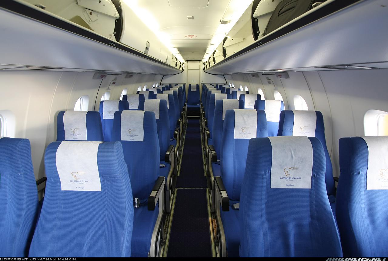 Dornier 328 Interior