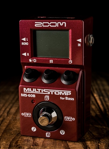 Zoom MS60B Bass MultiEffects Pedal