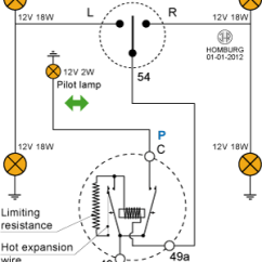 Electronic Flasher Unit Wiring Diagram Leviton Gfci Outlet Technische Website Nsu Motor Hans Homburg Hot Wire Circuit