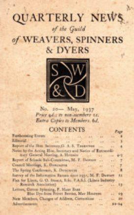 Quarterly publication of the Guild