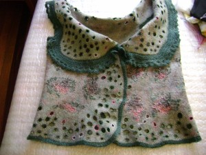Liudmila Abramova: Felted Vest
