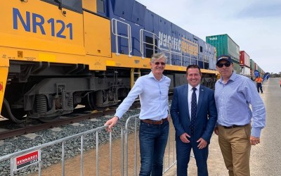 Parkes Logistics Terminal officially opens