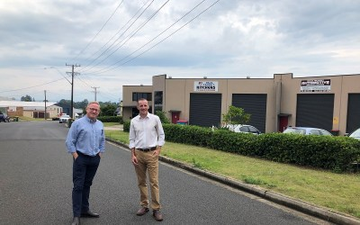 Nats in government invest in Lismore industry