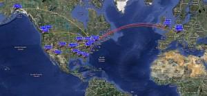 WSPR MAP 9/6/2010
