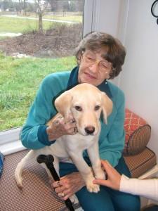 Grandma & Baxter