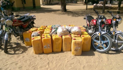 Items Seized from Boko Haram
