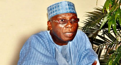 Audu Ogbeh  Minister of Agriculture