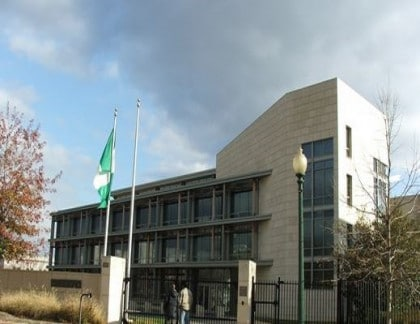 Nigerian Embassy In Washington Not Shut Down – Acting Ambassador