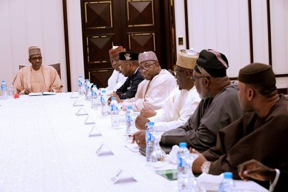 Buhari In Emergency Meeting With Governors
