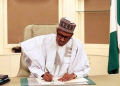 Image result for Buhari asks Senate to confirm seven NDIC nominees