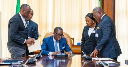 Okowa signs N395bn 2020 Delta Budget with a focus on infrastructure