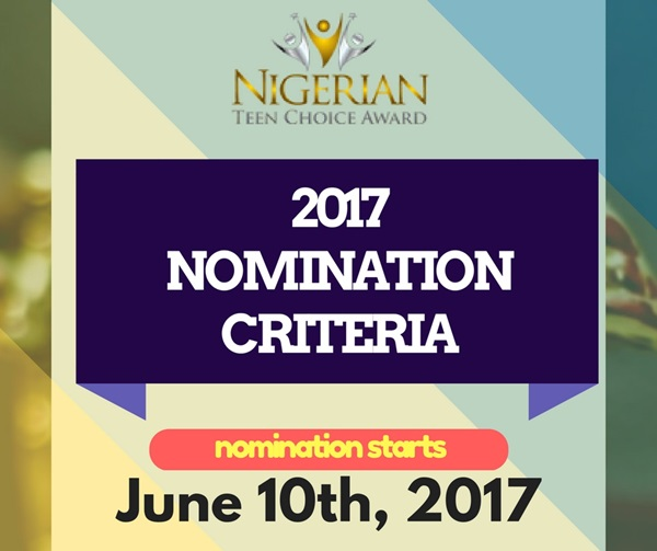 Nomination Criteria for NTCA 2017