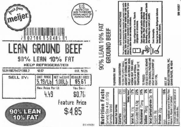 Over 40,000 Pounds of Ground Beef Recalled Due to Possible