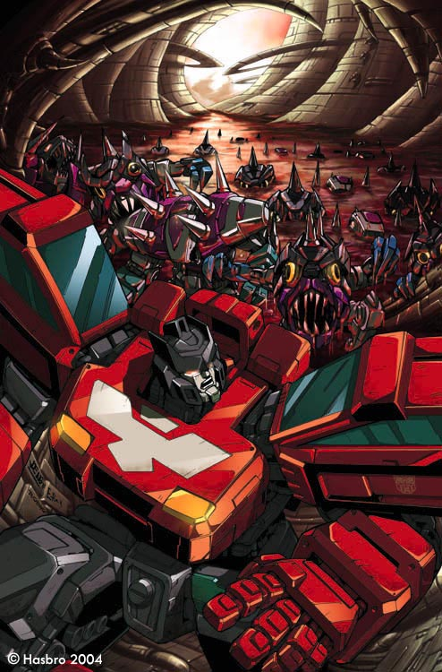 Dreamwave's Transformers Comics War Within Volume 3