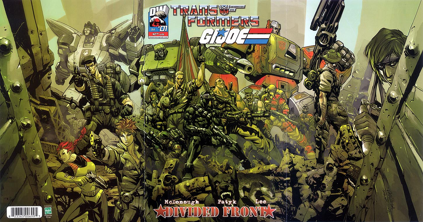 Dreamwave's Transformers Comics Transformers Vs G I Joe