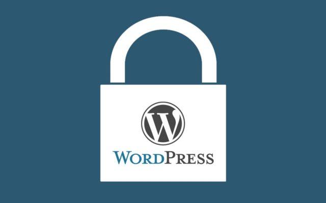 maintenance wordpress