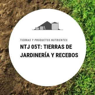 NTJ 05T Tierras de jardinería y recebos