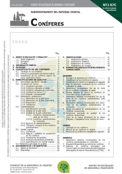 NTJ 07C Coníferes (2a edició)