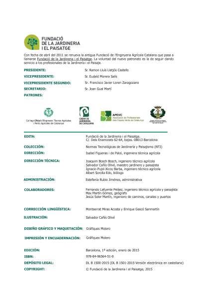 NTJ 15B SISTEMAS DE BIOFILTRACIÓN ASPECTOS GENERALES