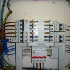 Mcb Board Wiring Diagram Compound Light Microscope Worksheet 3 Phase Consumer Unit Ntl Electrical Services Ltd