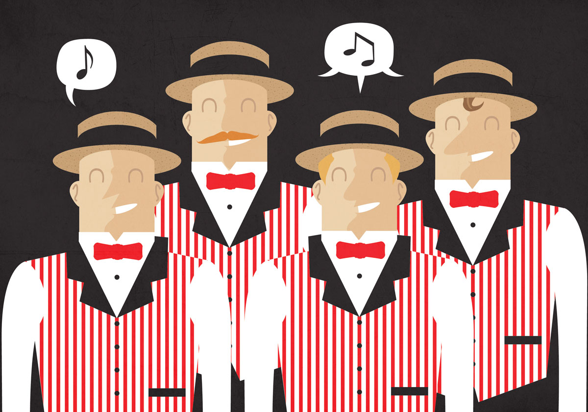 North Tonawanda Public LibraryHyNotes Barbershop Quartet — 7pm