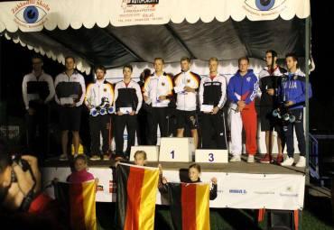 …i niemieckie podium mężczyzn