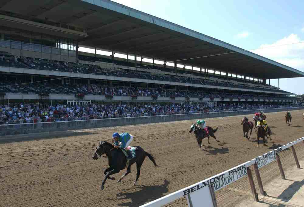 medium resolution of belmont park reaccredited by ntra safety integrity alliance