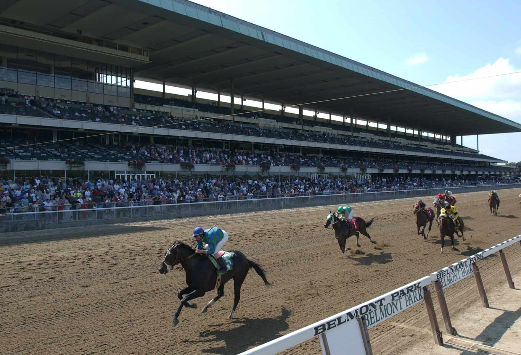 hight resolution of belmont park reaccredited by ntra safety integrity alliance