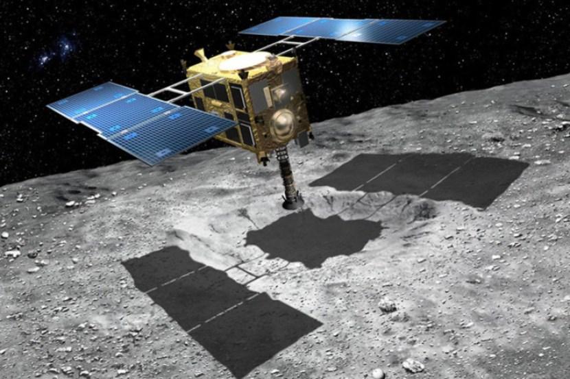 Resultado de imagen para sonda Hayabusa 2