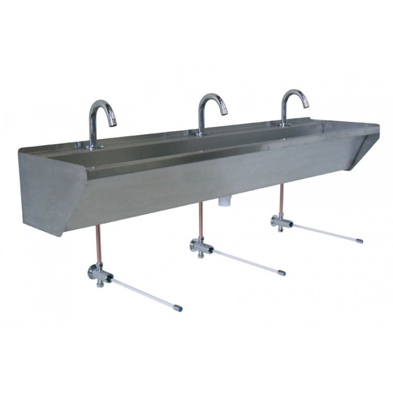stainless steel wash trough ontario tap