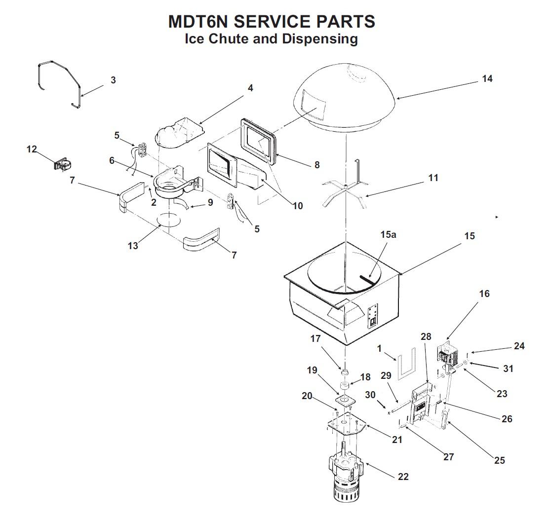 Scottsman Mdt6n90 Parts Diagram Nt Ice