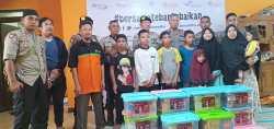 Di Jakarta Anggota BKO Samapta Polda NTT Berbagi Kasih Di Bulan Suci Ramadhan