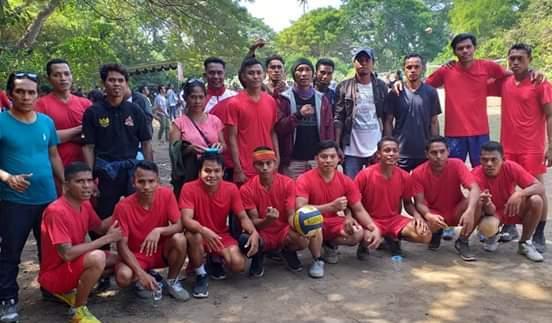 Tim Kodi Pasola Juarai Turnamen Volly IKSBD Bali