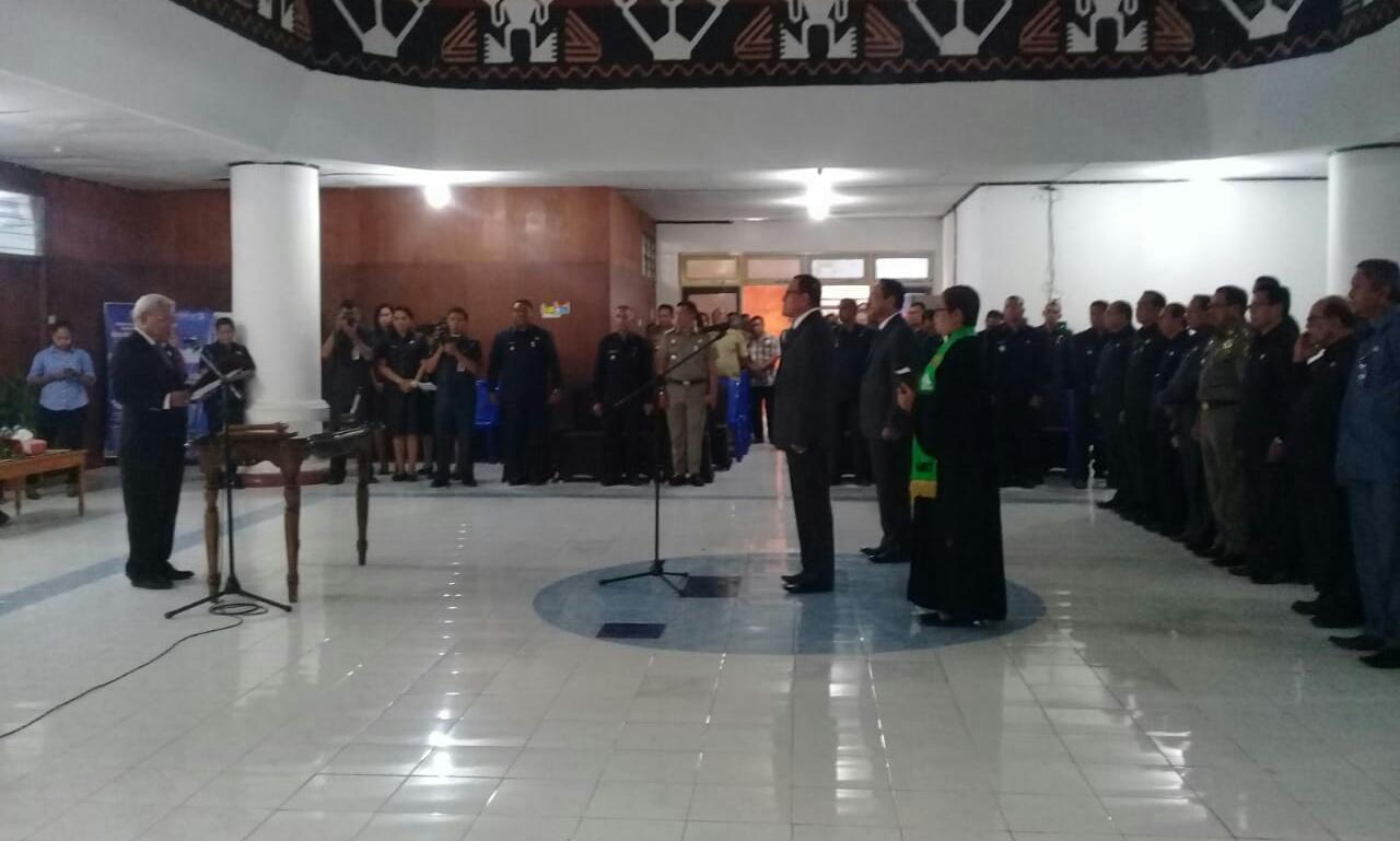 Wakil Walikota Kupang Lantik Penjabat Sekda Baru