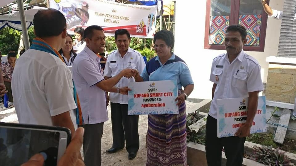 Pemkot Kupang, Bank NTT, PT KI Launcing Wifi Gratis dan Payment Point