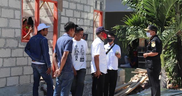 Direhap, Walikota Kupang Pastikan Rumah Milik Afliana & Samuel segera di Tempati