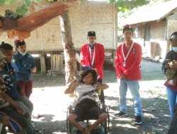 GMNI SBD Distribusikan Bantuan, Korban Masih Butuh Peralatan Tidur