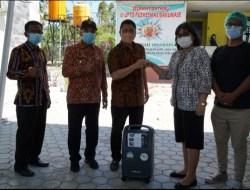 Walikota Serahkan Bantuan Perangkat Konsentrator Oksigen ke Rutan Klas 2B Kupang