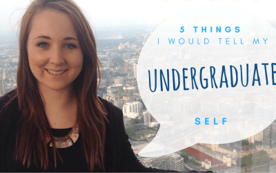 5 things I would tell my undergraduate self | Emily Oakden
