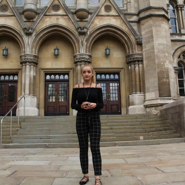 Caitlin's Work experience at NTU (WIS)