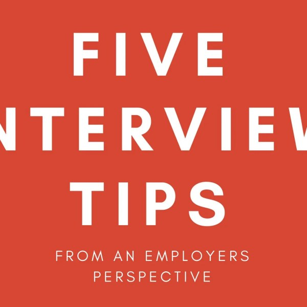 5 Interview Tips from a Manager's Perspective