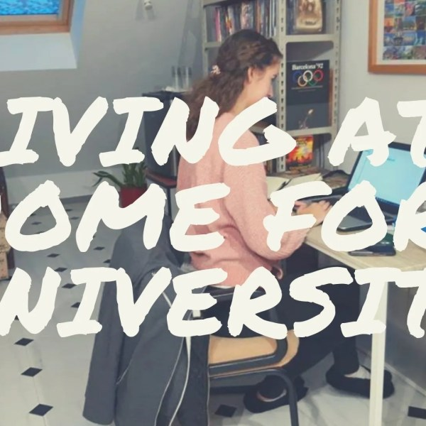 Why Living at home at University won't hold you back