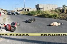 Fallece mujer tras accidente de motos en Tepic5