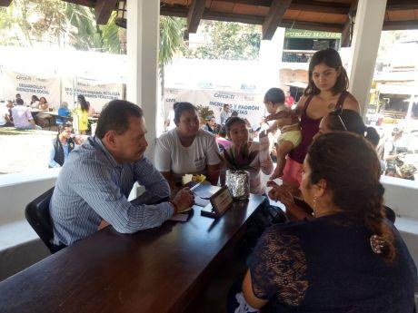 Jornadas ciudadanas se llevan hasta las comunidades trámites, gestiones, apoyos y servicios en Bahía de Banderas