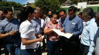 Refrenda Toño compromisos con el municipio de San Blas